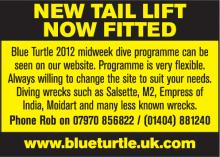 Blue Turtle Dive Charters Ltd