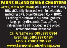 Farne Islands Diving Charters