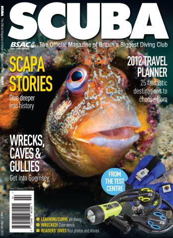 SCUBA issue three cover