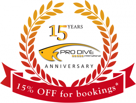 Pro Dive International 15 years image