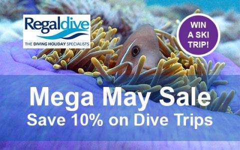 Mega May Sale Regaldive