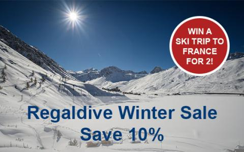 Win a ski trip with Regaldive